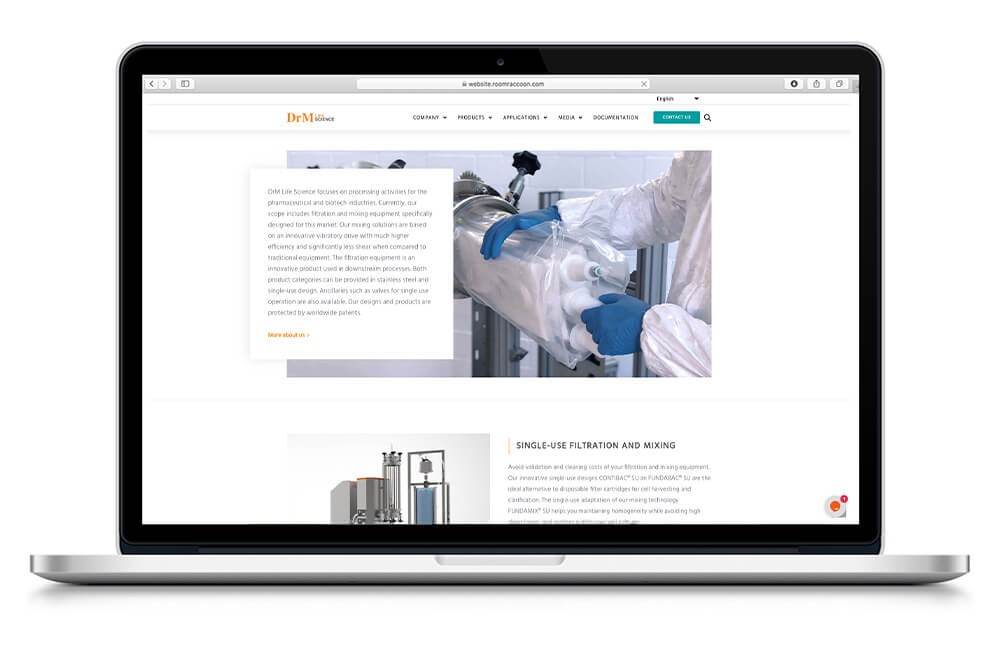 DrM Life Science Website