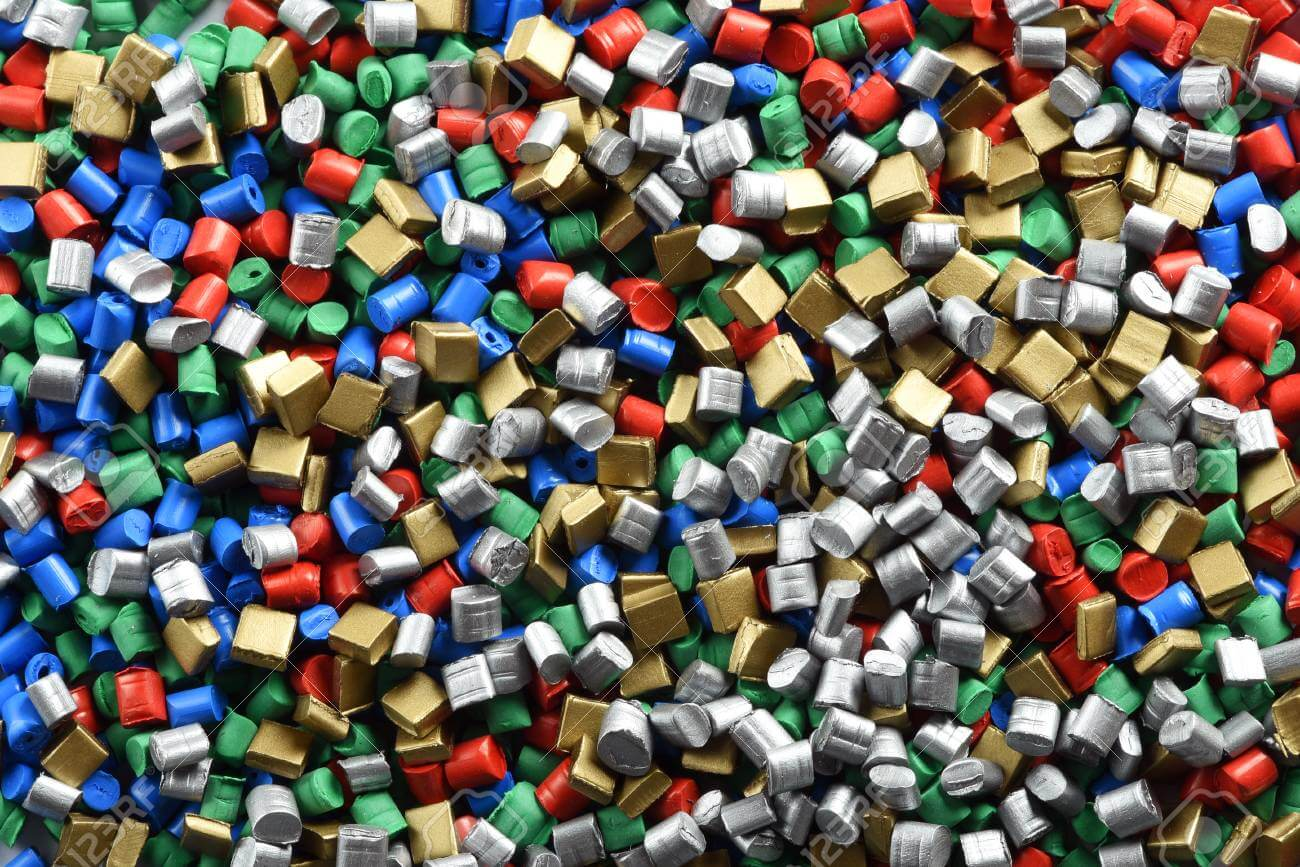 Plastic Pellets with impurities
